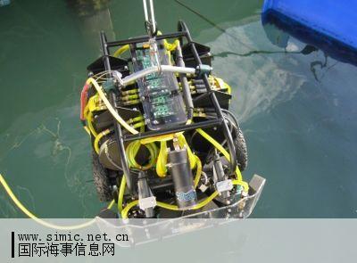 美国海军即将对海洋机器人公司首个仿生水下船壳清洁系统